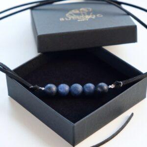 Bracelet-Choker Lapis-Lazuli