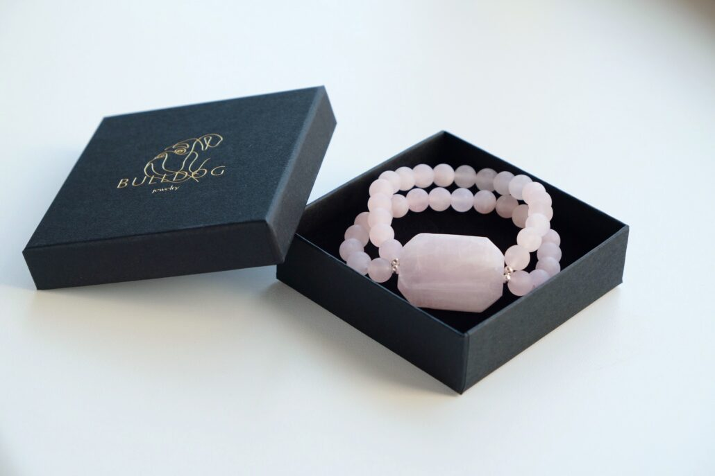 Bracelet Rose Quartz and Kunzite