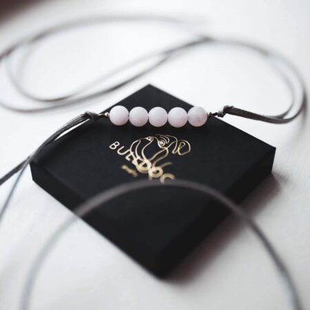 Bracelet-Choker Rose Quartz