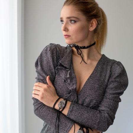 Bracelet-Choker Agate