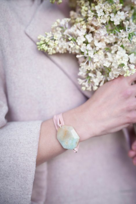 Bracelet-Choker Amazonite