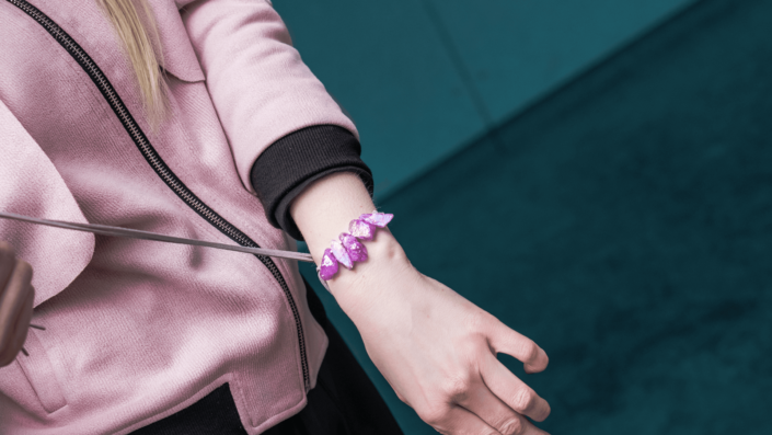 Bracelet-Choker Quartz