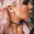 Earrings Rose Quartz